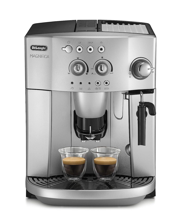 Delonghi Magnifica Esam 4200.S - Cafetera superautomática, 1450w, sistema cappuccino, capacidad 1,8l, 15 bares presión, plateado