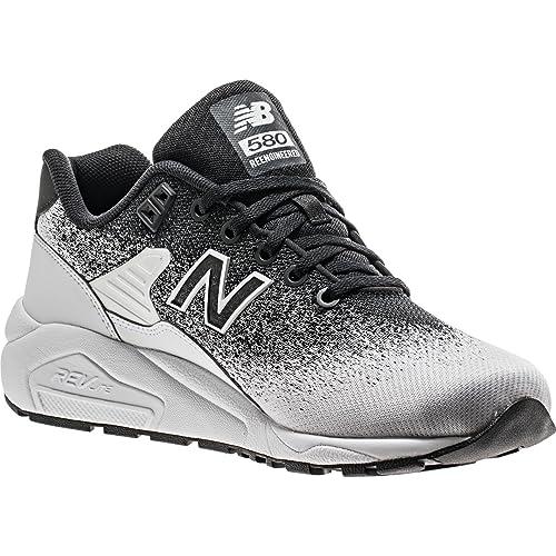 Nero bianco 41.5 EU Uomo scarpa sportiva color Nero marca NEW BALANCE jhr