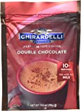 Ghirardelli Double Chocolate Premium Hot Cocoa, 10.5 Ounce - 6 per case.