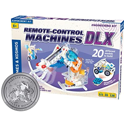 Thames and Kosmos Remote-Control Machines DLX: Toys & Games