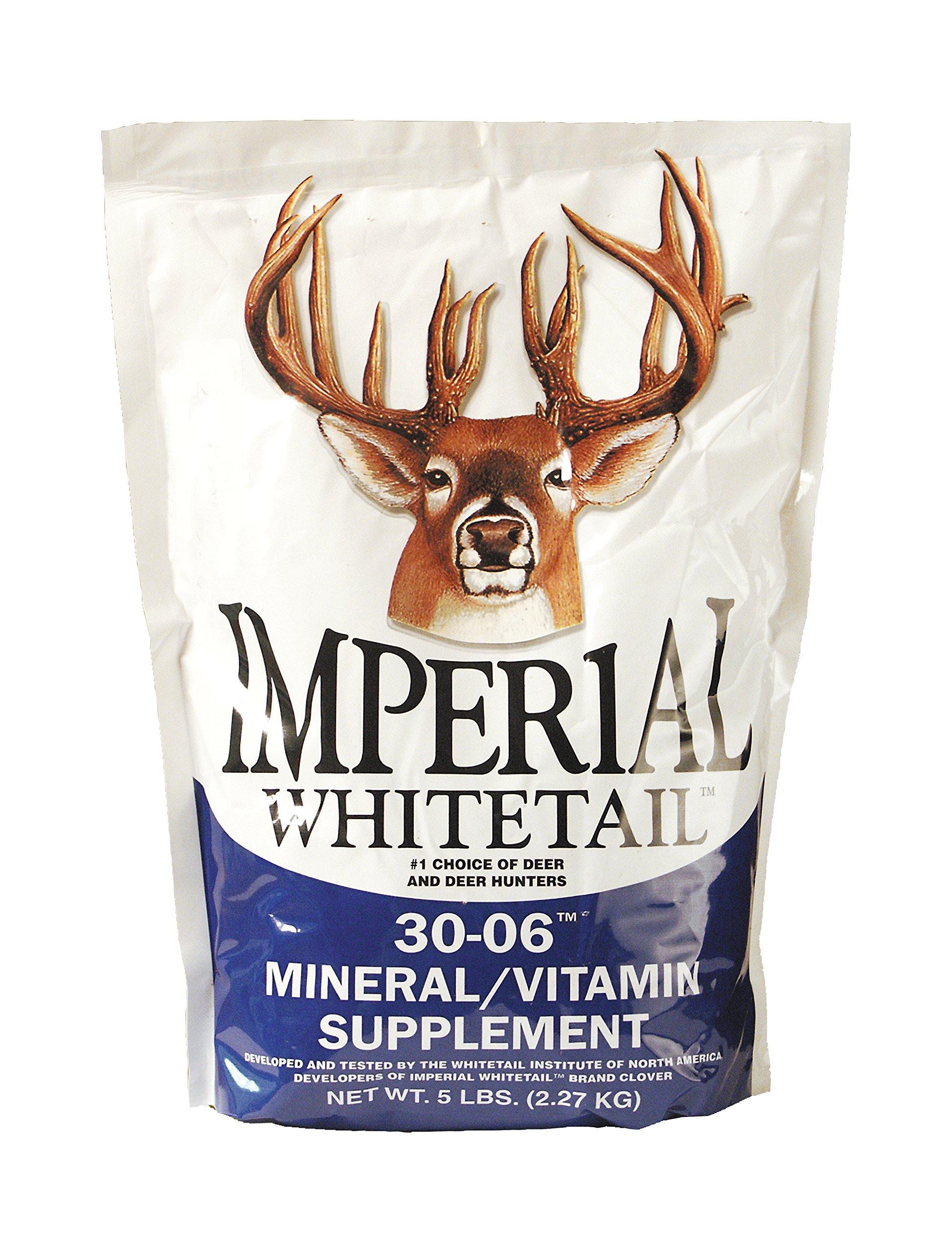 Whitetail Institute 30-06 Mineral/Vitamin Deer Mineral Supplement, 20-Pound by Whitetail Institute