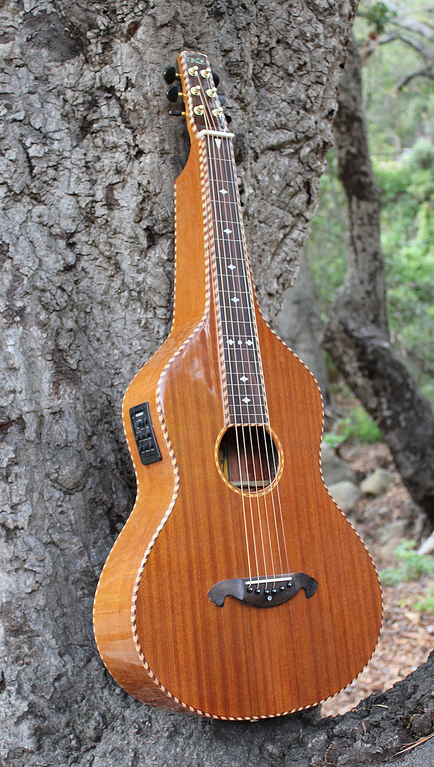 Imperial Royal Hawaiian Limited Edition Weissenborn Style Lap Steel Guitar