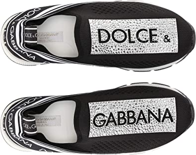7cc4e09b9 Amazon.com | Dolce & Gabbana Kids Unisex Knit Sneaker (Little Kid ...