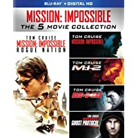 Mission: Impossible The 5 Movie Collection on Blu-ray