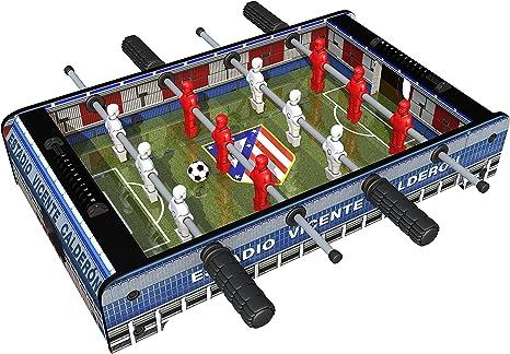 Atlético de Madrid Futbolín (Proyectum Sport Team 10ATL-0000-1): Amazon.es: Juguetes y juegos