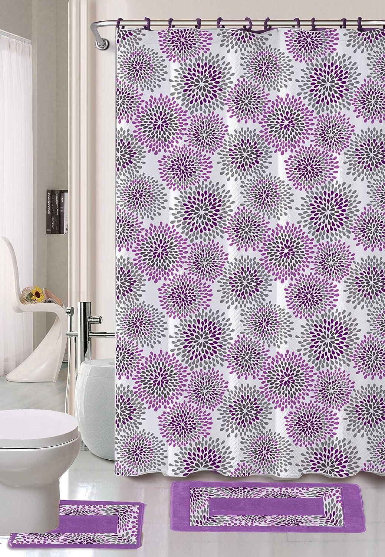 Horse Shower Curtain Toilet Cover Mat//Pedestal Rug Mat//Bath Mat Bathroom