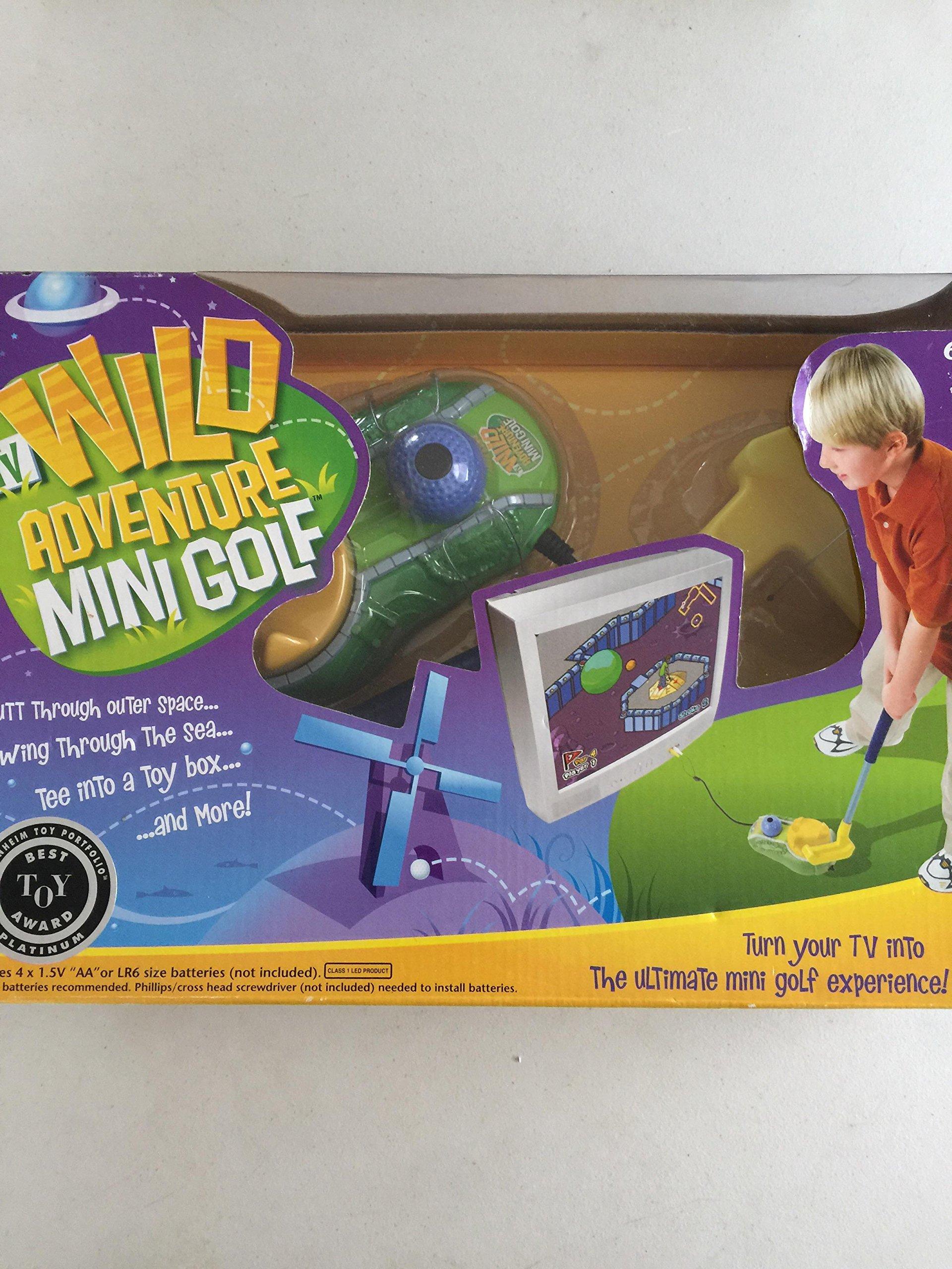 Plug & Play Tv Games Wild Adventure Mini Golf by Bradley (Image #1)