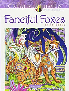 Creative Haven Fanciful Foxes Coloring Book (Adult Coloring)
