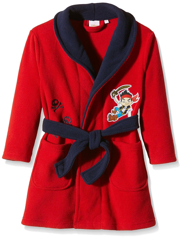 Disney Boy's Jake and The Neverland Pirates Long Sleeve Robe Blue (Royal) 3 Years HO2007