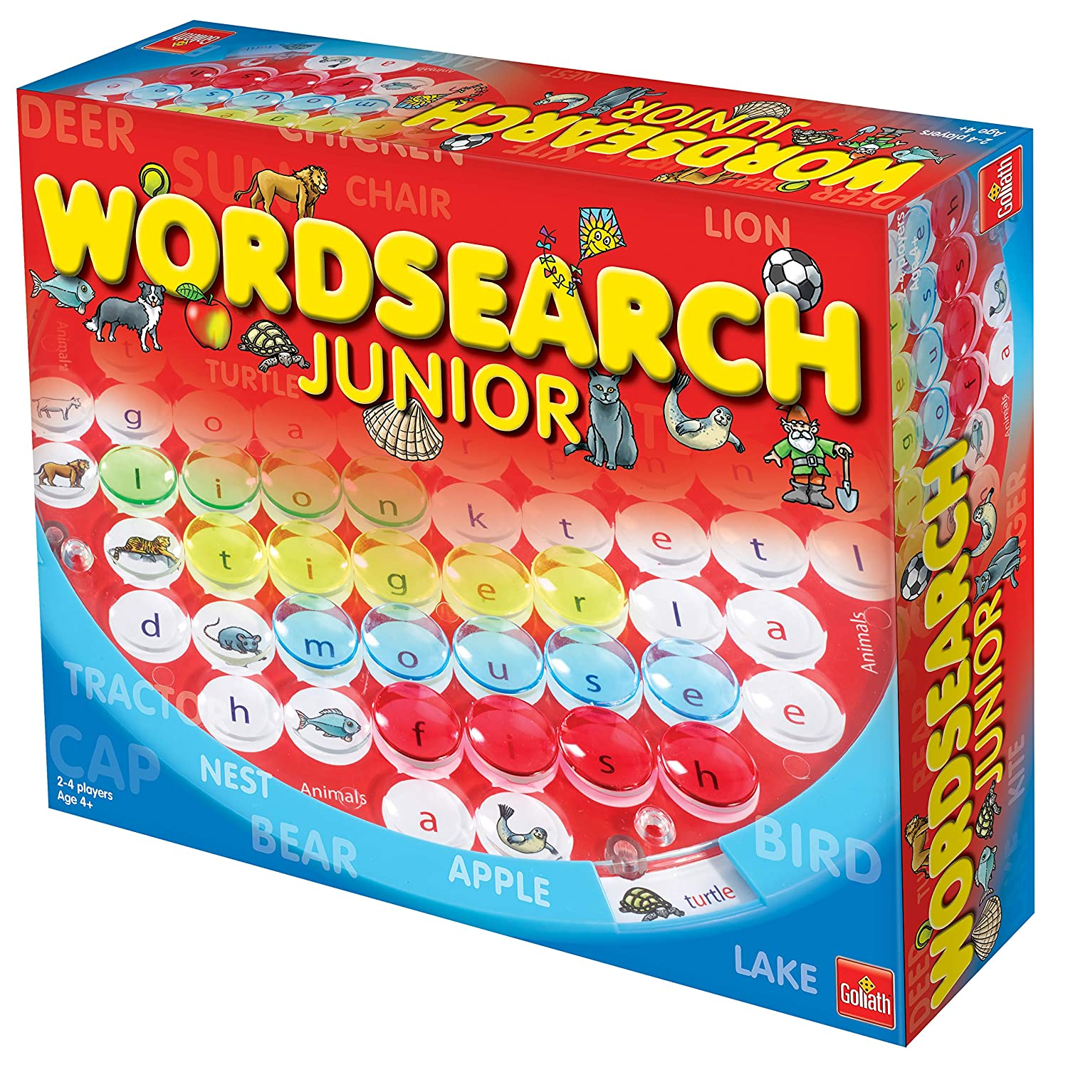 Multi 3XWordSearch Junior Word Puzzle Board Game for Kids