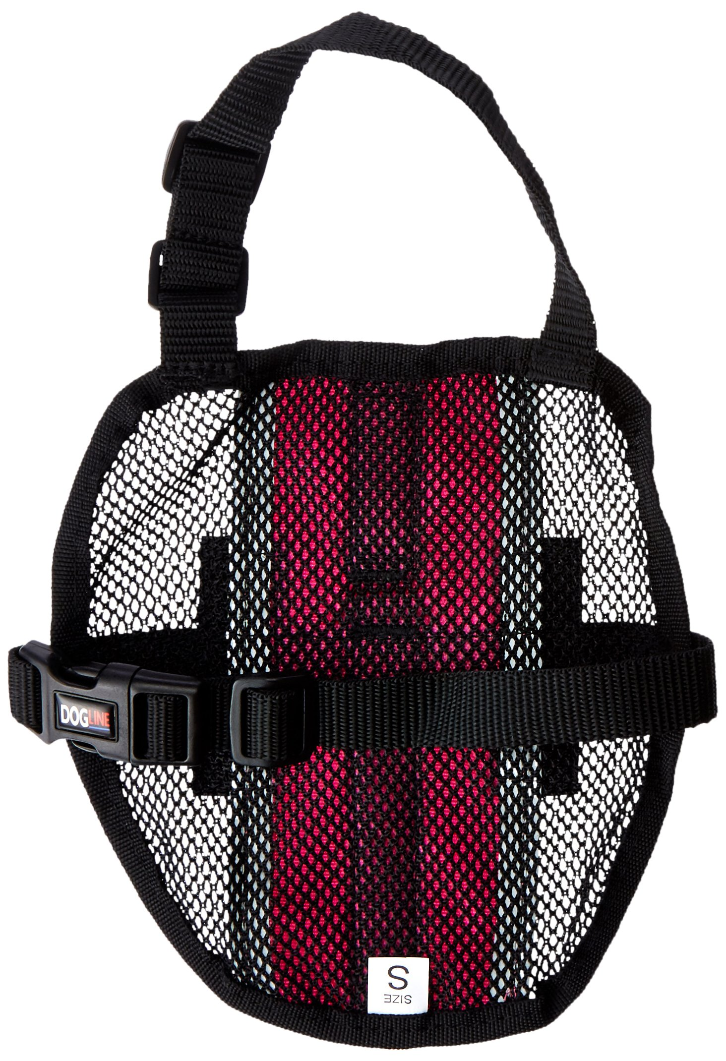 Dogline MaxAire Multi-Purpose Mesh Vest for Dogs and 2 Removable Emotional Support Patches, Small, Pink by Dogline (Image #2)