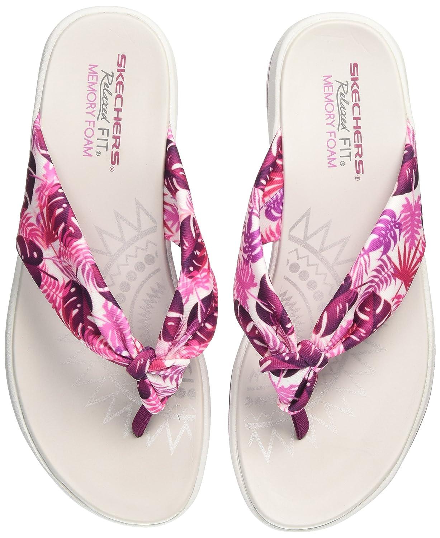 dd843537b966 Skechers Women s Upgrades Raspberry Flip-Flops-4 UK India (37 EU) (7 US)  (40965-RAS)  Amazon.in  Shoes   Handbags