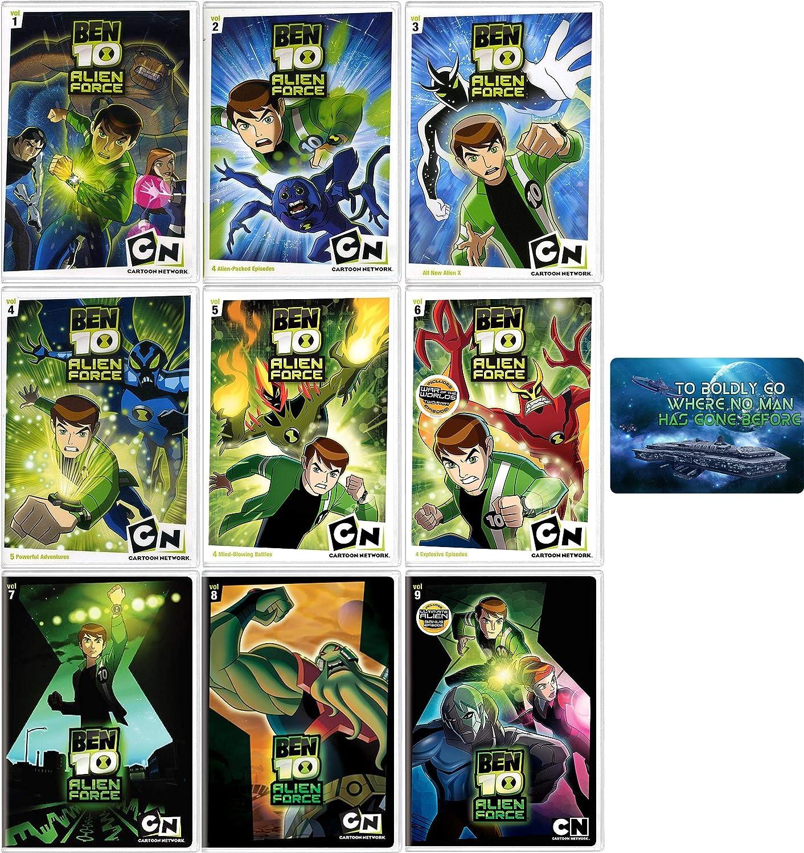 Amazon Com Ben 10 Alien Force Complete Tv Series Seasons 1 3 Dvd