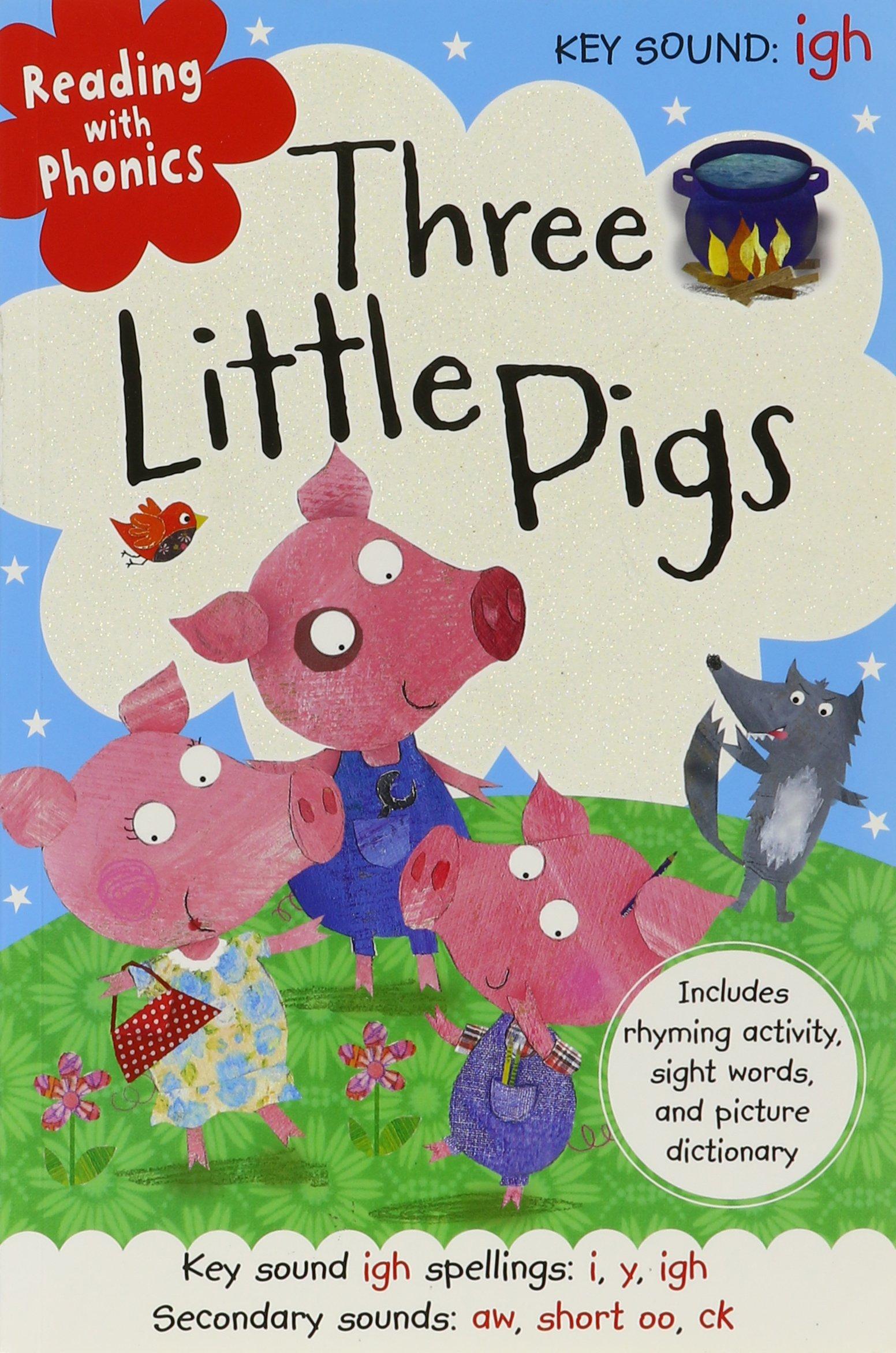 Download Three Little Pigs (Reading With Phonics) pdf epub