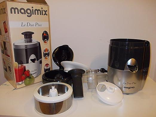 Magimix Le Duo Plus XL - Licuadora, color plateado: Amazon.es: Hogar