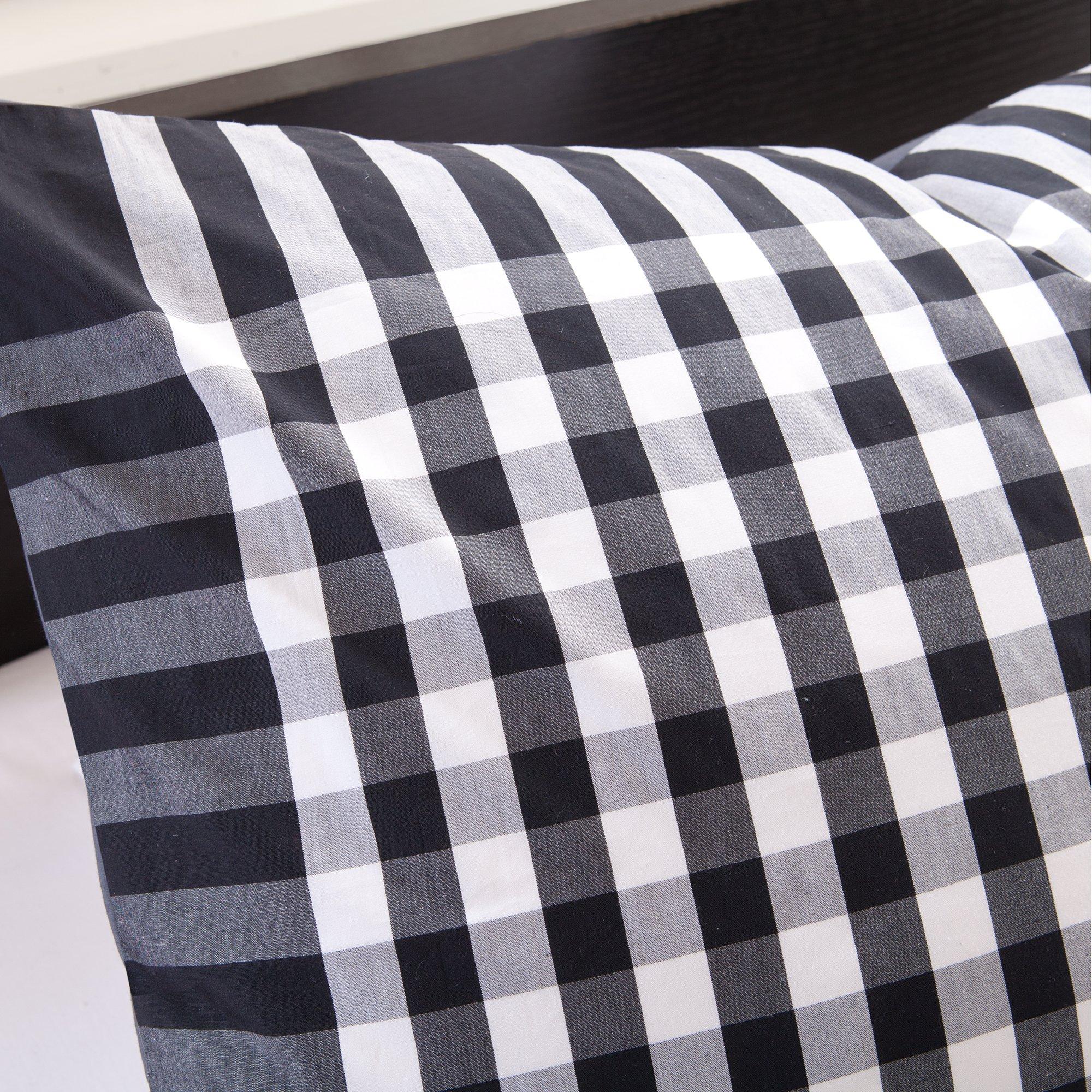 Ink+Ivy Blake 3-Piece Comforter Set, Full/Queen, Black by Ink+Ivy (Image #3)