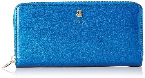 Tous 995960400, Monedero para Mujer, (Azul), 19.5x11x2 cm (W ...