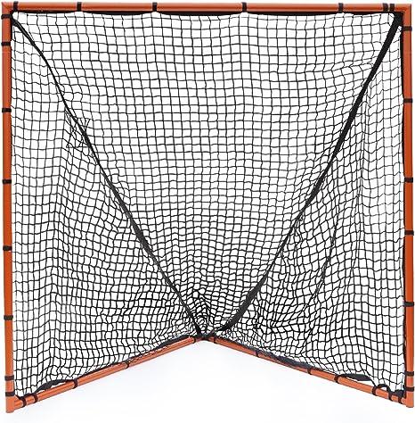 NET PLAYZ  6 x 6 x 6 Feet Lacrosse Goal Fast Install Lightw... Fiberglass Frme
