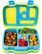 Bentgo Kids Brights – Leak-Proof, 5-Compartment Bento-Style Kids Lunch Box – Ideal Portion Sizes for Ages 3 to 7 – BPA-Free and Food-Safe Materials