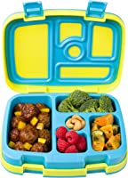 Bentgo Kids Brights 鈥� Leak-Proof, 5-Compartment Bento-Style Kids Lunch Box 鈥� Ideal Portion Sizes for Ages 3 to 7 鈥�...