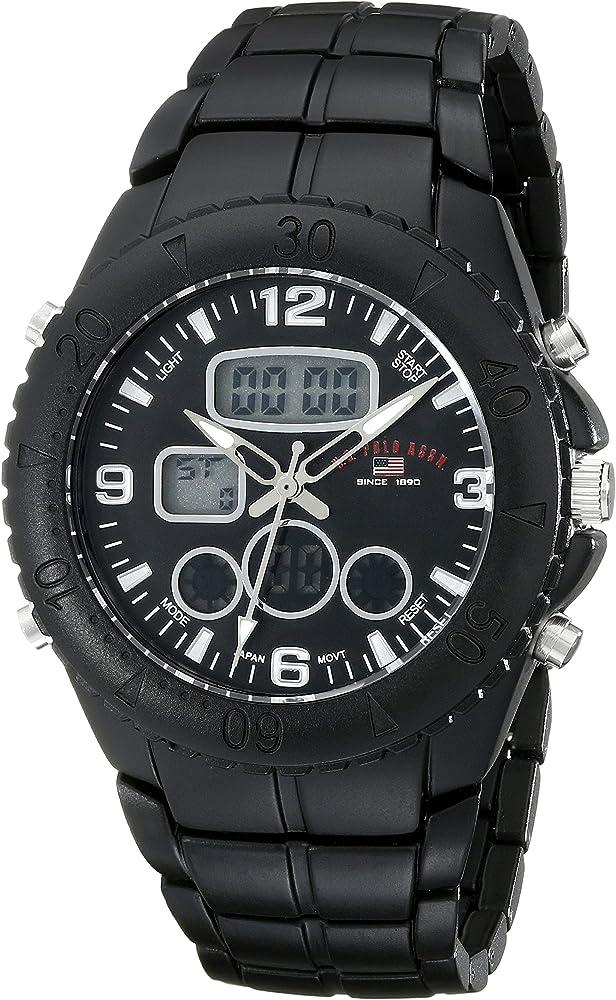 U.S.POLO ASSN. US8577 - Reloj de Pulsera Hombre, Aleación, Color ...