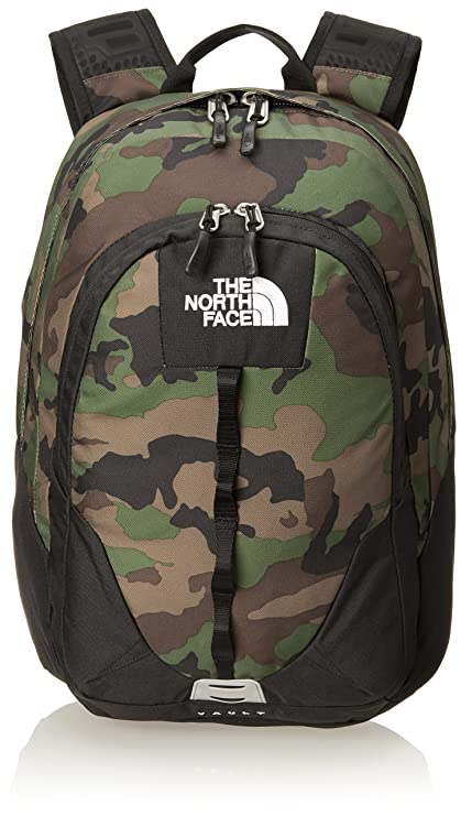 The North Face - Mochila, diseño militar, color negro