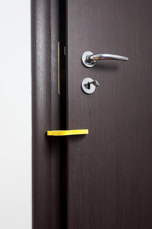 Placards Avec 6/serrures de porte de s/écurit/é pour armoire Lot de s/écurit/é pour enfant A l/épreuve des b/éb/és facile /à installer 14/protections de bord et 1/But/ée de porte