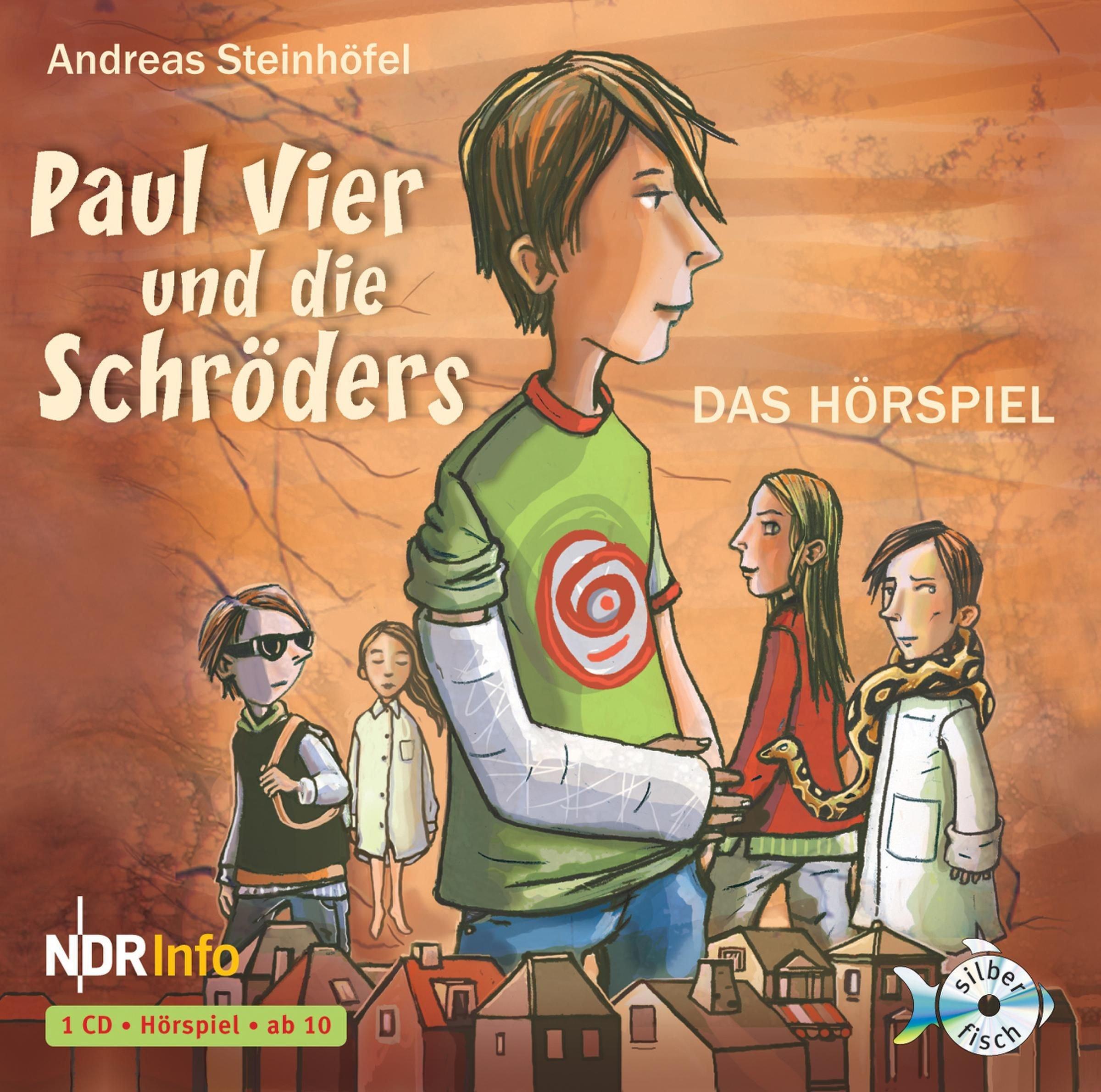 Paul Vier und die Schröders - Das Hörspiel: 1 CD: Amazon.de: Andreas ...