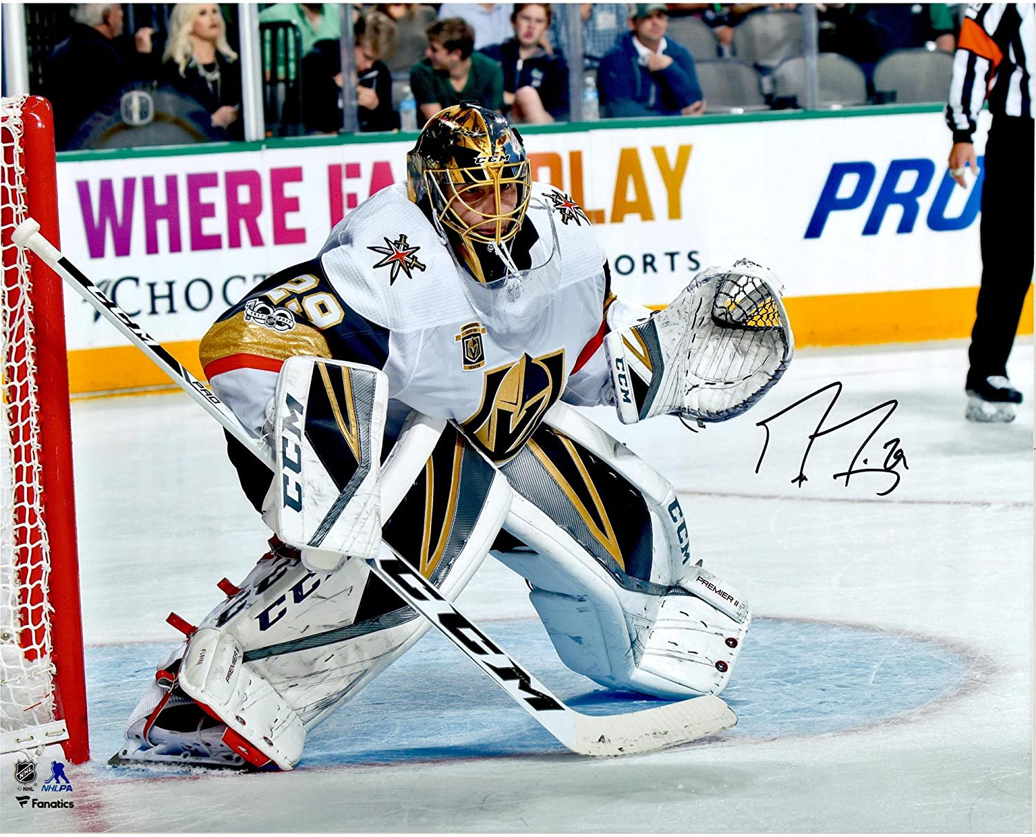 ab2441b00 Marc-Andre Fleury Vegas Golden Knights Autographed 16