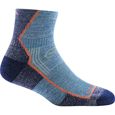 .com : Darn Tough Women's Hiker 1/4 Sock Cushion (Style 1901/1958) Merino Wool - 6 Pack Special (Denim, Medium (7.5-9.5)) : Sports & Outdoors