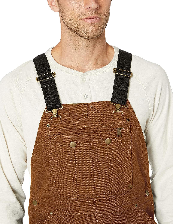 Essentials Duck Bib Quilt Lined Overall Hombre