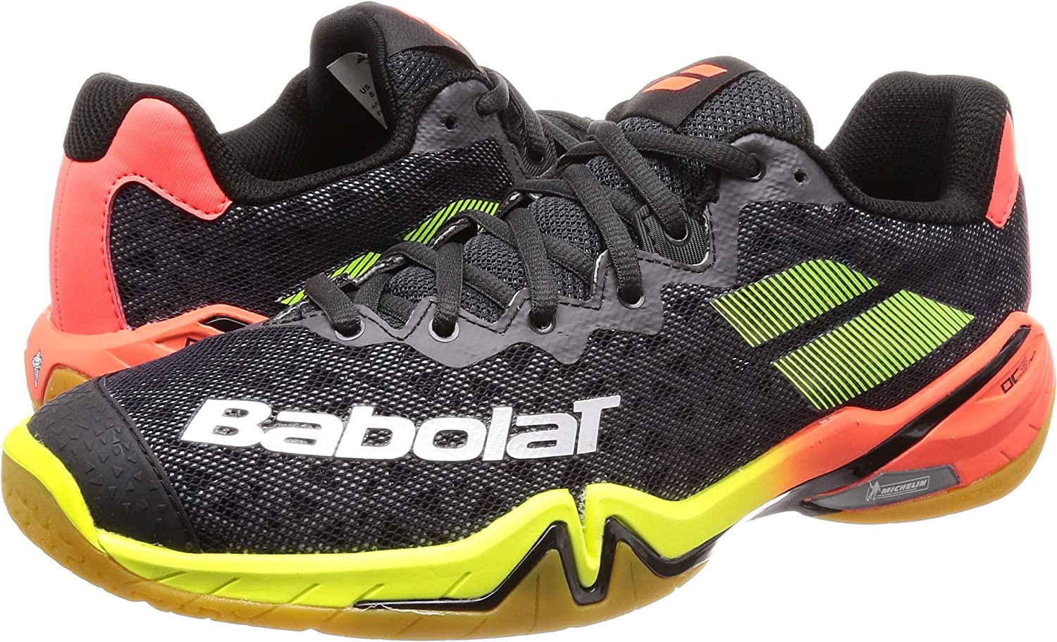 BABOLAT SHADOW TOUR 40.5-49 NEU 110€ badmintonschuhe spirit team blast propulse