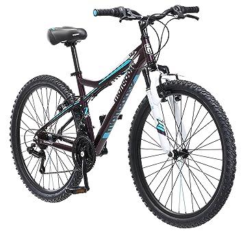 mongoose womens silva mountain bicycle 26 wheel 16small frame size - Mountain Bike Frame Sizes