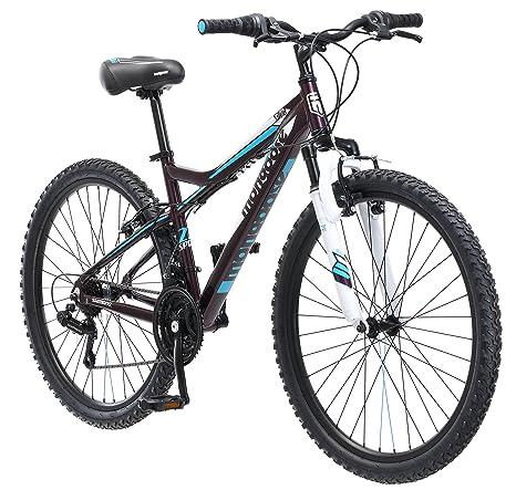 Mongoose Women's Silva Mountain Bicycle 26