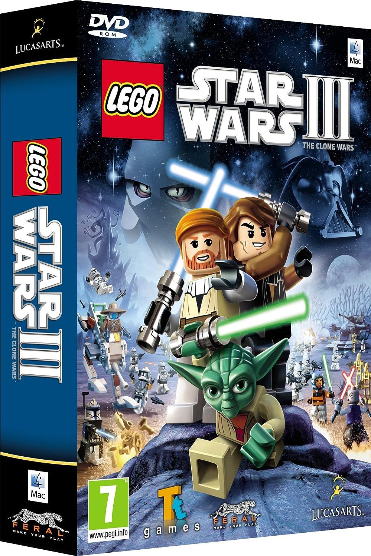 Lego Star Wars III: The Clone Wars (Mac DVD) [Importación inglesa]: Amazon.es: Videojuegos