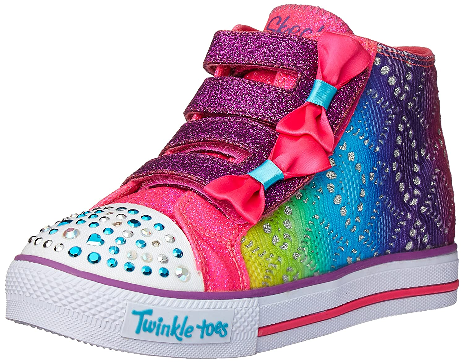 Skechers Kids Chit Chat Lil Primpers Light-Up Sneaker (Toddler/Little Kid