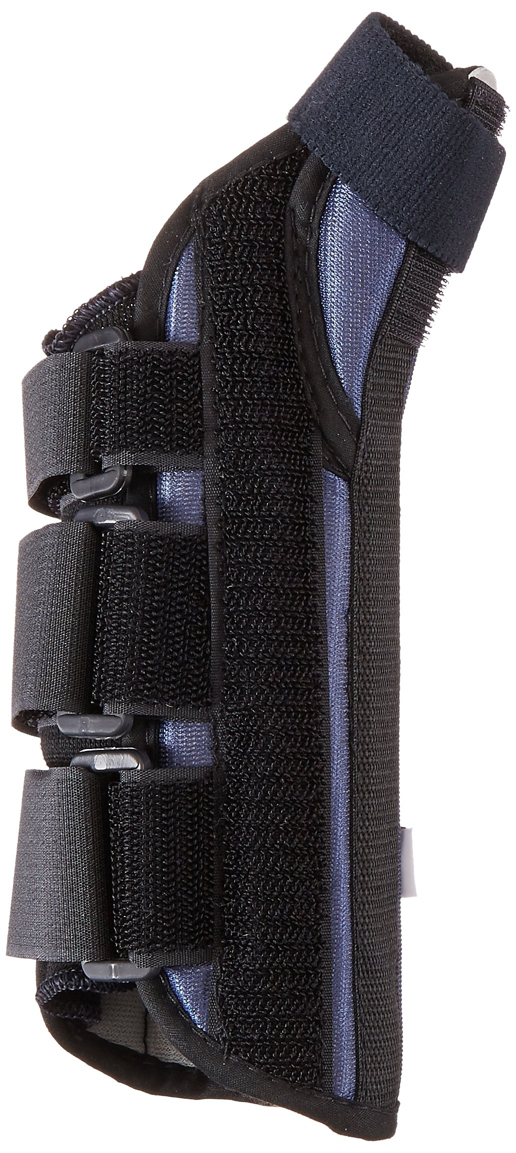 Sammons Preston Thumb Spica Wrist Brace, MC and CMC Joint Support and Stabilizer, Secure Brace and Splint for Thumb with Open Finger, Splint for Recovery, Therapy, Rehabilitation, Left, Small