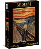 Clementoni - 39377 - Museum Collection Puzzle - Munch, L'Urlo - 1000 Pezzi