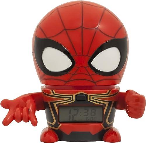 Bulb Botz Infinity War Iron Spider Night Light Marvel Avengers Alarm Clock