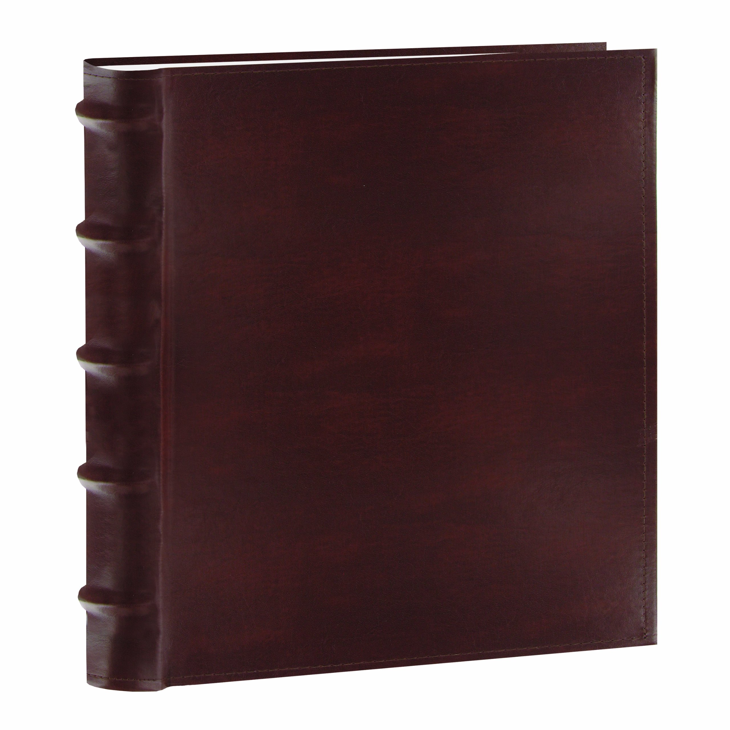 Pioneer Photo Albums CLB-246/BN 200-Pocket European Bonded Leather Photo Album for 4 by 6-Inch Prints, Brown