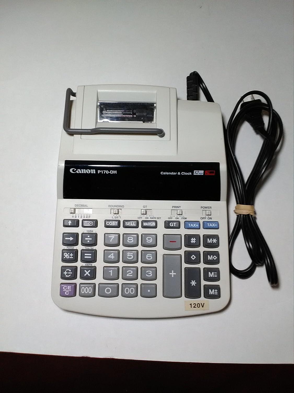 Best canon p170-dh calculator 2020