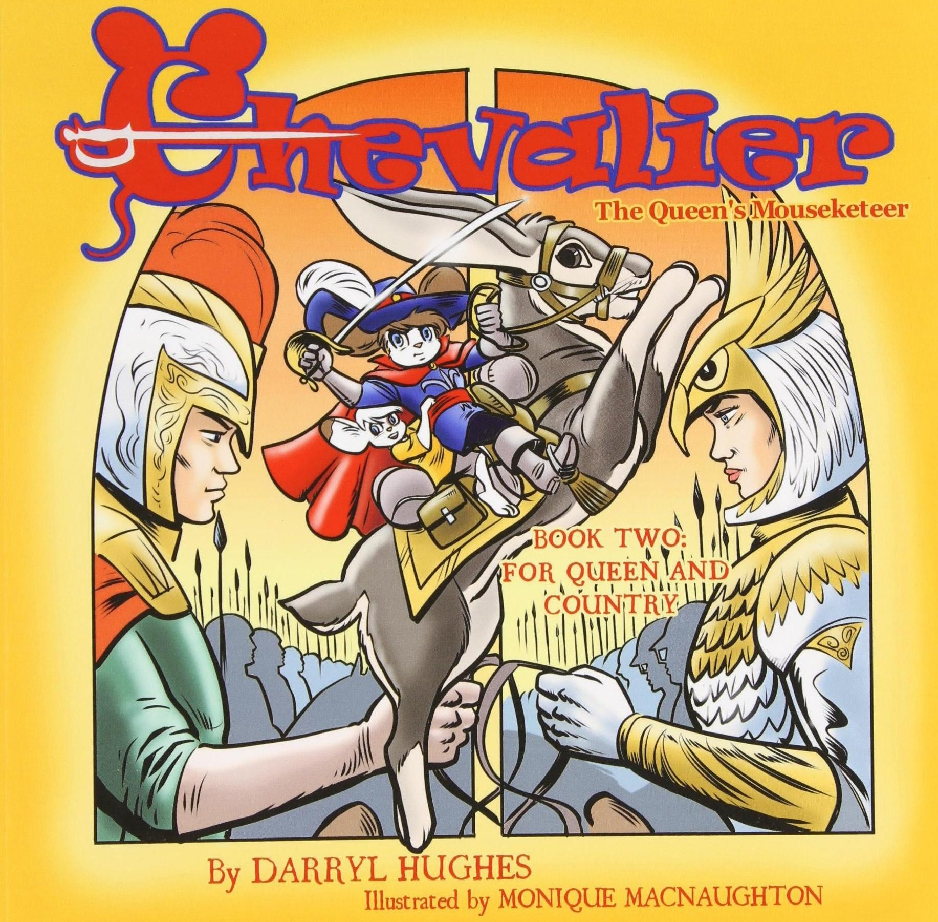 Read Online Chevalier the Queen's Mouseketeer: For Queen and Country(Fantasy Books for Kids. Book two) ebook