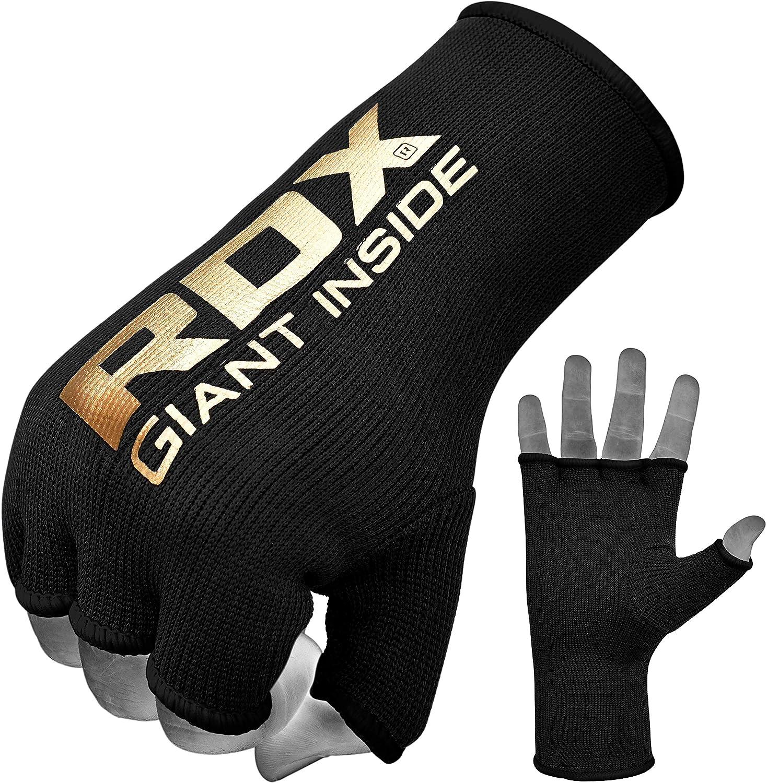 RDX Boxbandagen Elastisch Boxen Innenhandschuhe MMA Handschuhe Daumenschlaufe MEHRWEG