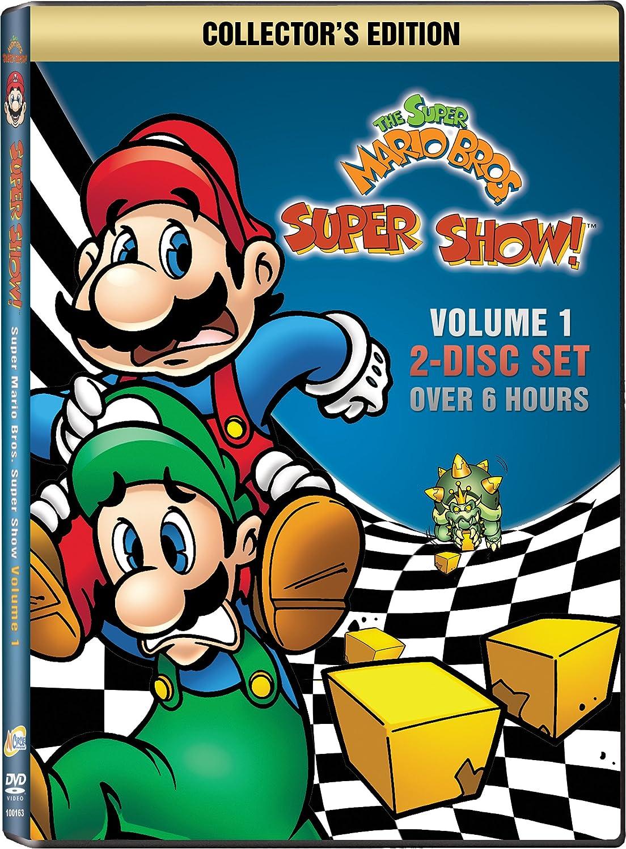Amazon Com The Super Mario Bros Super Show Volume 1 Animated
