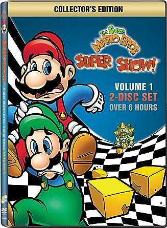 Amazon Com The Super Mario Bros Super Show Volume 1