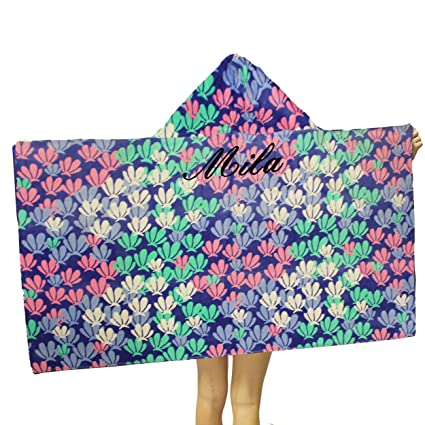 Beach Theme Towel Personalized Bath//Beach Towel with FREE Custom Embroidery
