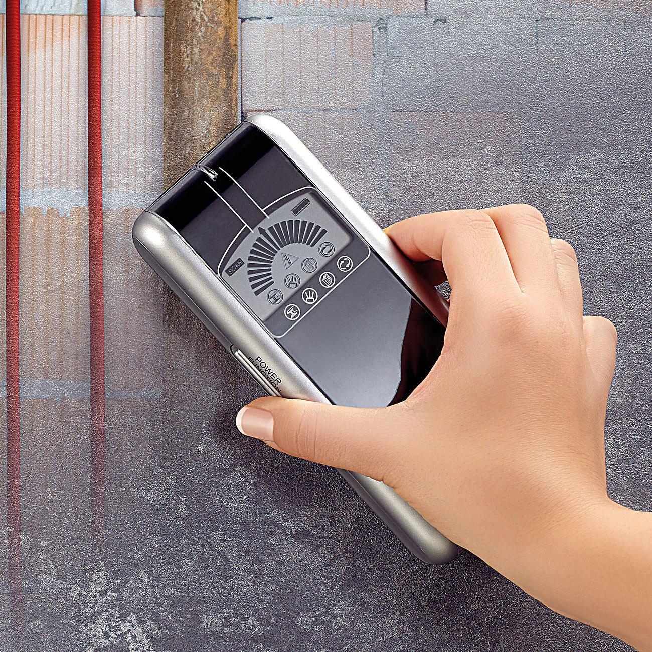 AGT - Detector 3 en 1 (detecta metales, electricidad y madera): Amazon.es: Industria, empresas y ciencia