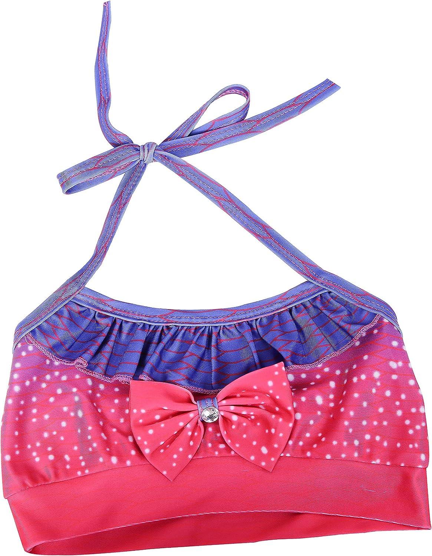 Girls 3 Pcs Swimsuit Mermaid Bikini Bathing Suit Set for 3-8Y