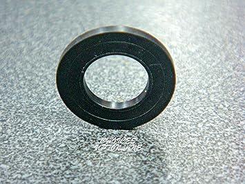Repuesto de limpiaparabrisas planos de goma negra de 1,9 cm para varios accesorios de fontanería: Amazon.es: Bricolaje y herramientas