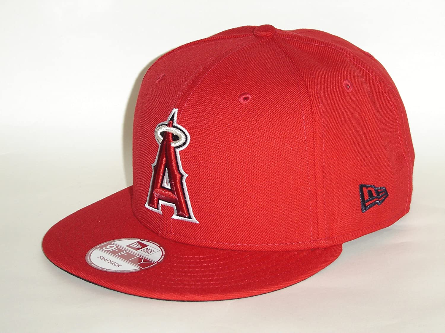buy online cfce0 01ca2 ... official store amazon new era mlb los angeles angels of anaheim red snapback  cap 9fifty sports